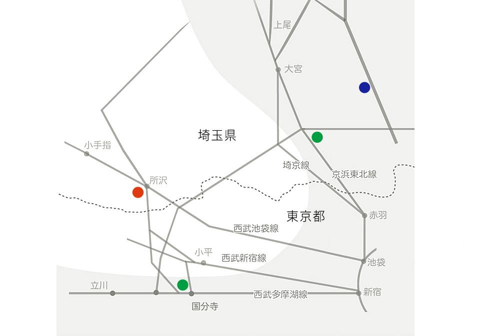 建設部門エリアマップ